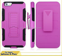 Shockproof PC+Silicone Belt Clip Holster heavy duty case for Samsung Galaxy N7100 / NOTE 2