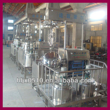 100 L emulsifier for cosmetics, equipment used for emulsion,liquid detergent making machine