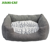 2017 china new product luxury foldable memory foam pet dog sofa beds