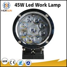 "Waterproof 4x4 accessories round spot / flood 5.5"" off road truck marine 45w led work light"