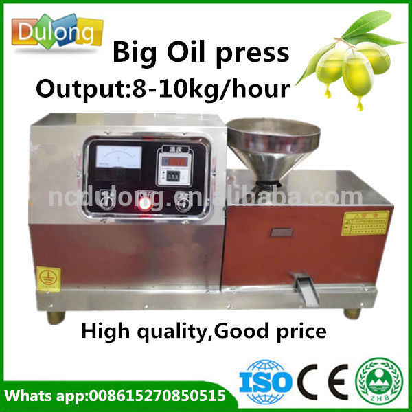 Best selling DL-ZYJ09 automatic home use olive oil press or sunflower seed oil press machine
