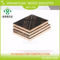 Concrete Construction Formwork plywood price from XHY factory 18mm 4*8ft type osb board plywood
