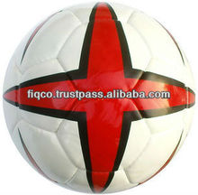 PU PVC Synthetic Leather Hand Stitched Training Soccer Ball / Football