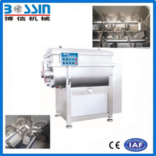 Industrial used best construction vacuum meat mixer equipment