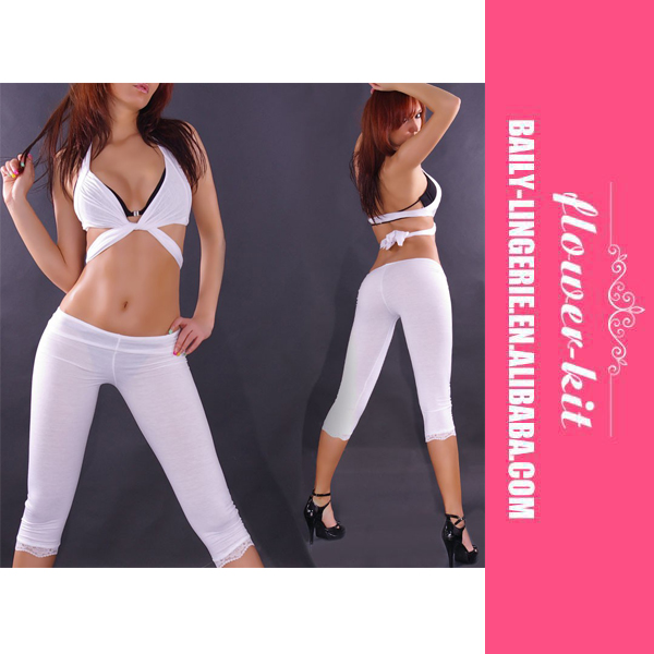 New Coming Hot Girl Sexy Short Elastic Legging