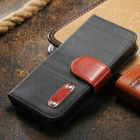 leopard flip phone5 vertical leather for iphone case