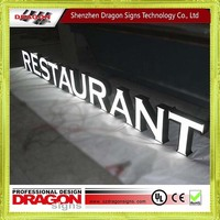 Factory price plastic letter