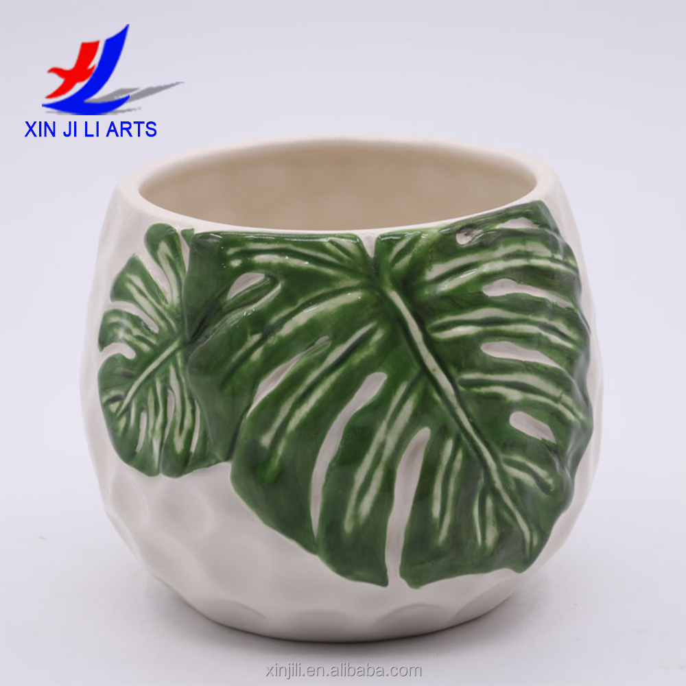 Small Ceramic Flower Pots Wholesale For Succulent Plants