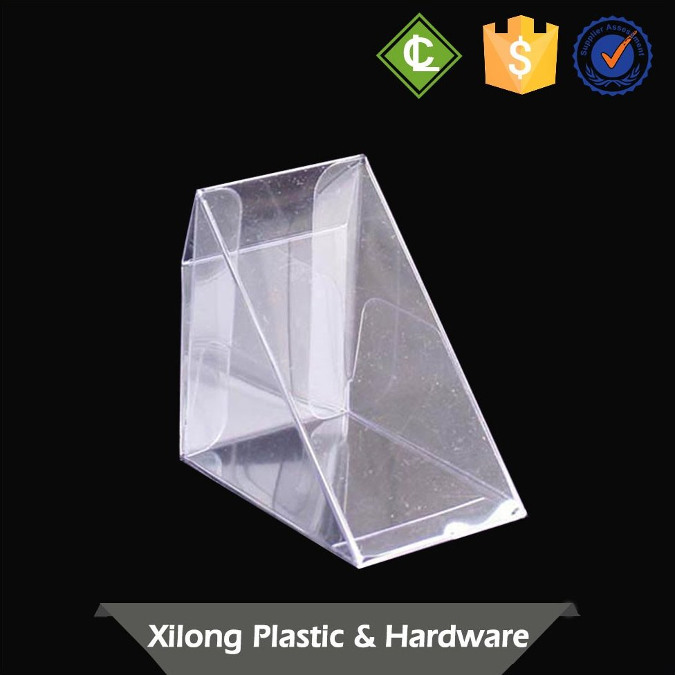 Custom-Made Superior Quality Plastic Triangle Cake Frozen Food Packaging Box