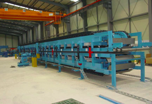 Polyurethane Sandwich Panel Production Line, Continuous Polyurethane Sandwich Panel Making machine