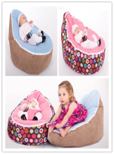 Custom printed outdoor Baby bean bag chairs kids wholesale