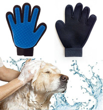 New Style Oval Slicker Double Sided <strong>Pet</strong> Grooming Dog Brush Glove