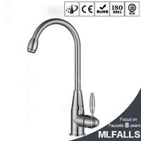 Simple design centerset deck mount sink mixer kitchen sanitary ware water ridge faucet company