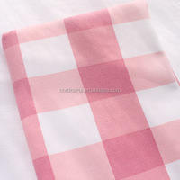 Nantong textile fashion dress yarn dyed cotton pink striped shirt pique fabric made in usa wholesale