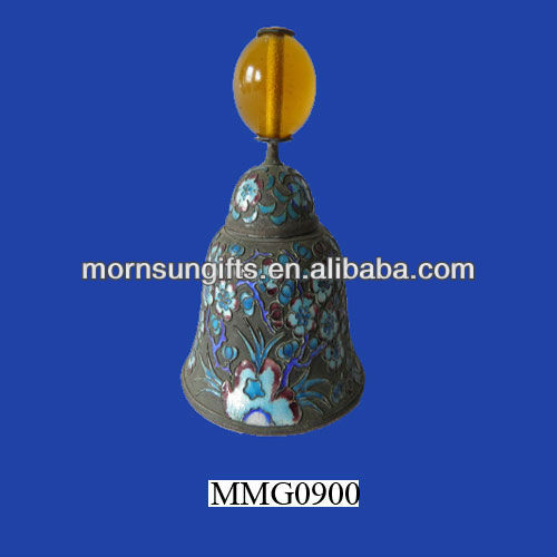 Fine old Chinese enamel church bell for sale