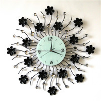 2015 Factory price custom modern decorative moving gear wall clock