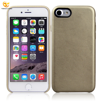 Wholesale Ultra-Thin Sticker pu leather soft phone case for iphone 7