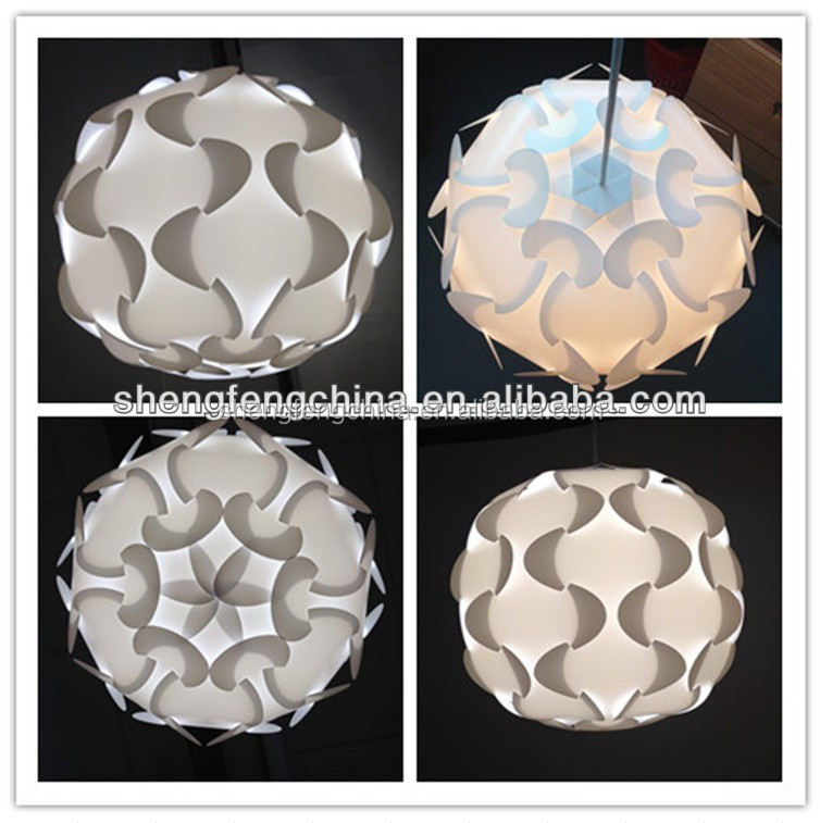factory wholesale new design smart puzzle lampshade