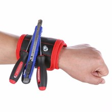 Magnetic Wristband with Strong Magnets for Holding Screws, Nails, Drill Bits - Best Tool gift