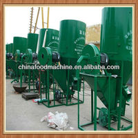 10 High speed animal feed grinding and mixing machine