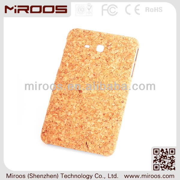 2014 new design custom cork leather tablet pc cover case for samsung galaxy tab 3 10.1 p5200/p5210