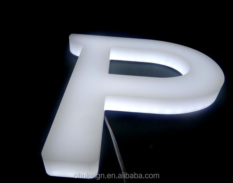 High Brightness 3d Illuminated Front Amp Side Lit White