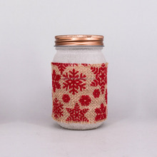 Wholesale Mason Candle Jar Scented Candle in Glass Mason Jar