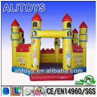 inflatable jumping bouncy castle for toddlers and kids