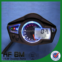 Motorcycle universal digital meter fit for all motorcycle 220km/h oil gauge 15ohm