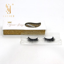 wholesale Custom Package premium 3D real Mink Lashes With Private Label