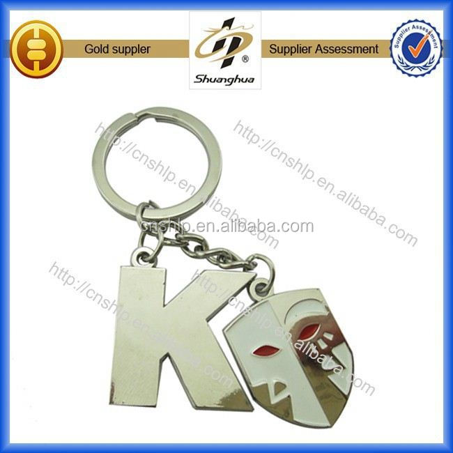 factory design customized brand keychain making supplies