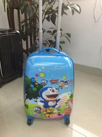 high level kids trolley luggage set