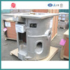 150kg aluminum shell Mechanical tilting induction melting furnace