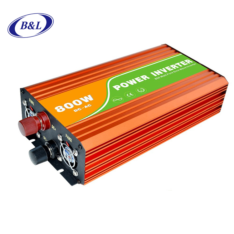 800W Dc To Ac 12v 48v 60v 110v 220v 380v 50hz Solar Pure Sine Wave Inverter