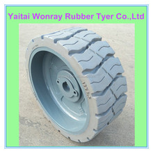 12x4.5 Wonray Solid rubber Tire for Scissor Lift Truck tire12x4.5
