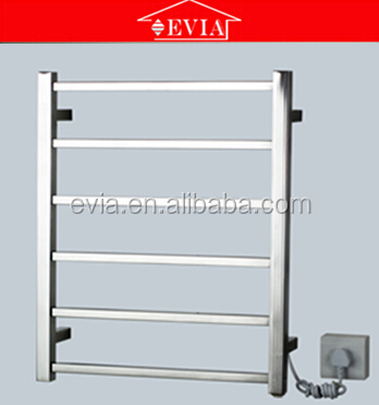 newest EV-6S door hinge towel rack, electric towel rail,wall with folding towel racks