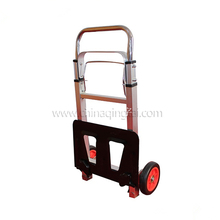 Folding aluminum plant hand trolley for easy storage
