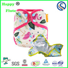 Happy flute baby reusable cloth diaper cover washable cloth diaper bulk on sale