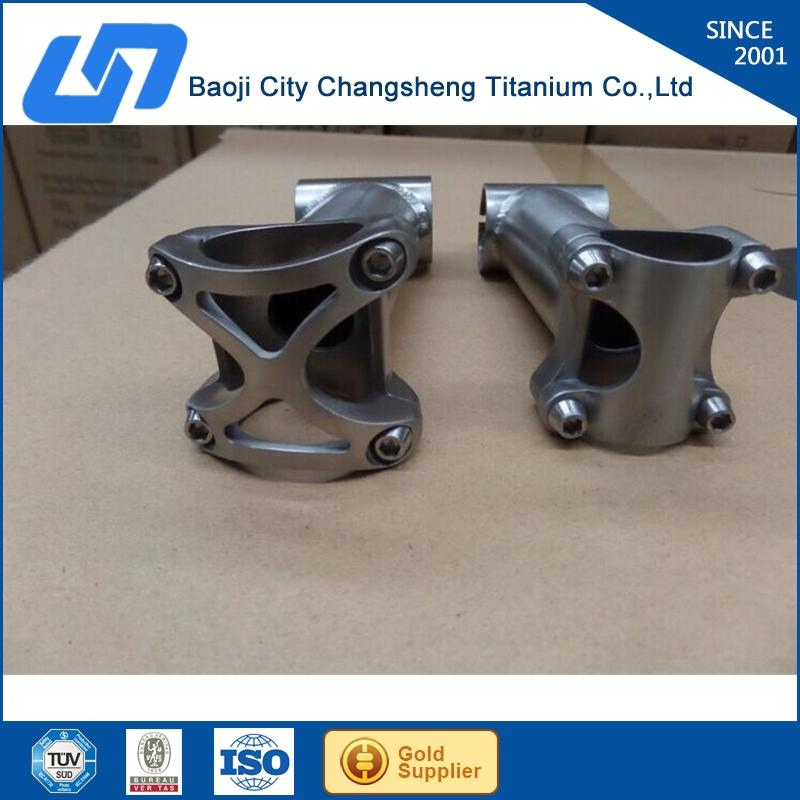 sample stock new style titanium mtb bike stem with low price