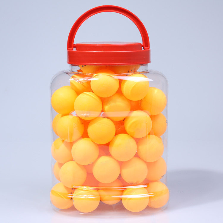 60pcs/barrel Professional Table Tennis Balls 40mm 2.9g Ping Pong Ball Yellow White for Table Tennis Game