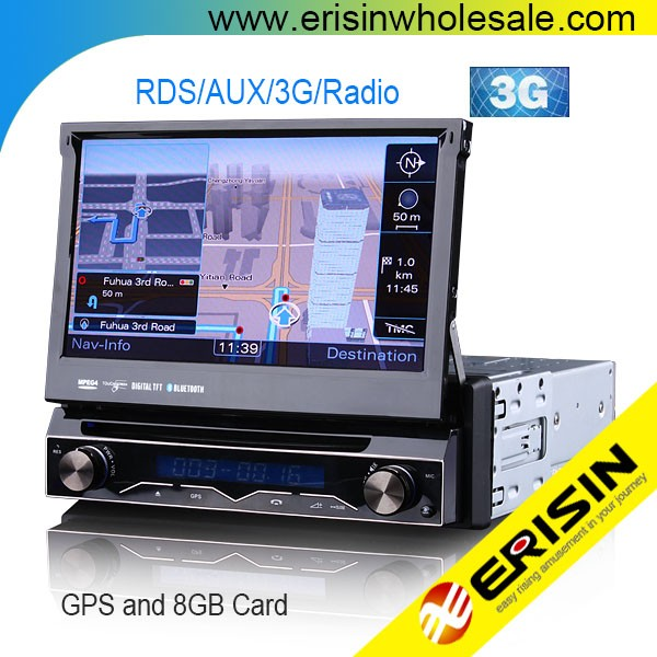 "Erisin ES1088M 7"" Car Multimedia 1 Din Touch Screen Car Radio System"