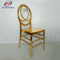 Event and wedding furniture high light gold plated resin phoenix chair