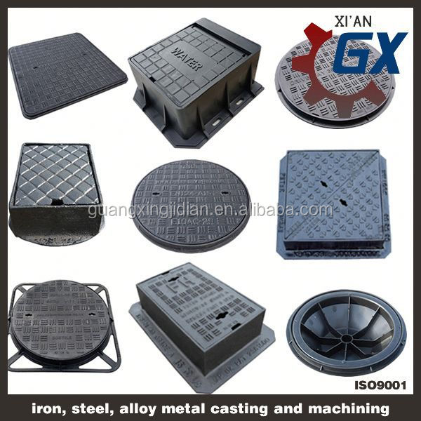 double seal ductile manhole cover
