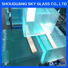 1.3mm Ultra Thin Clear Glaverbel Sheet Glass Wholesale