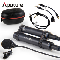Aputure Omnidirectional condenser microphone, lapel microphone, studio microphone