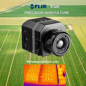 HIgh Resolution Flir Tau2 640 thermal gimbal camera Multiple Reading Temperature drone with camera Thermal Camera