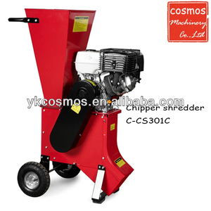 13HP Gasoline Manual Wood Chipper Shredder For Sale
