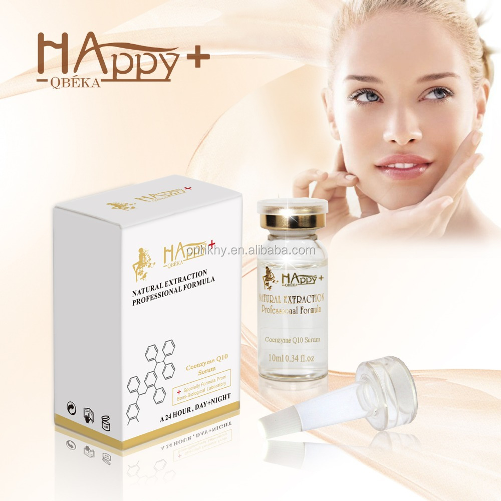 Private Label HAPPY+ Coenzyme <strong>Q10</strong> <strong>serum</strong> anti-wrinkle <strong>serum</strong> skin revitalizing <strong>serum</strong>