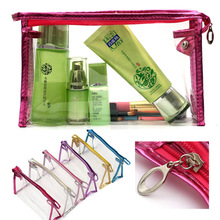 Waterproof Clear PVC Cosmetic Makeup Bag And Pouch