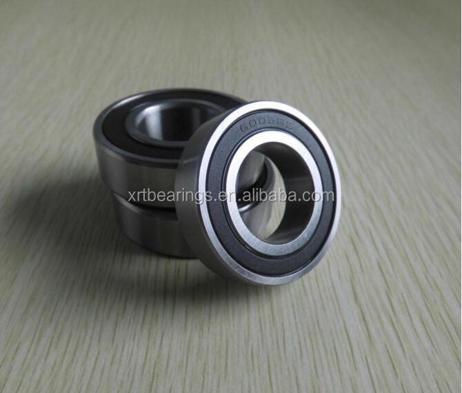 Motorcycles/go kart/electric skateboard deep groove ball bearings 6005RS 6005-2RS